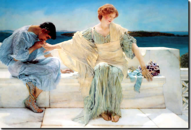 Ask Me No More ( Alma Tadema )
