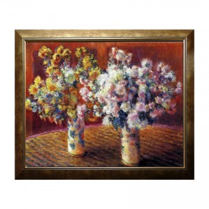 Framed_Sample_two_vases_by_Monet