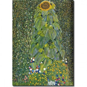 Sunflower_by_Klimt