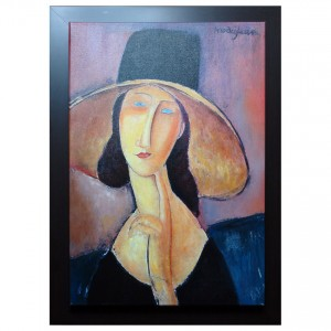 Modigliani_Lady_with_hat