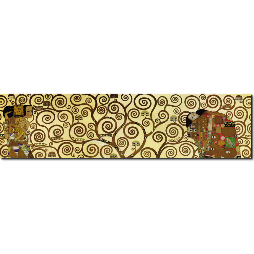 Klimt Horizontal Detail the Tree of Life