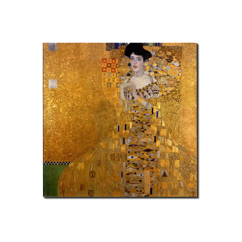 Adele No 1/The Golden Face by KLIMT