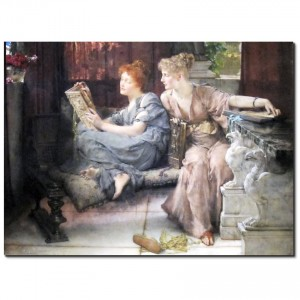 web_'Comparison'_by_Lawrence_Alma-Tadema,_