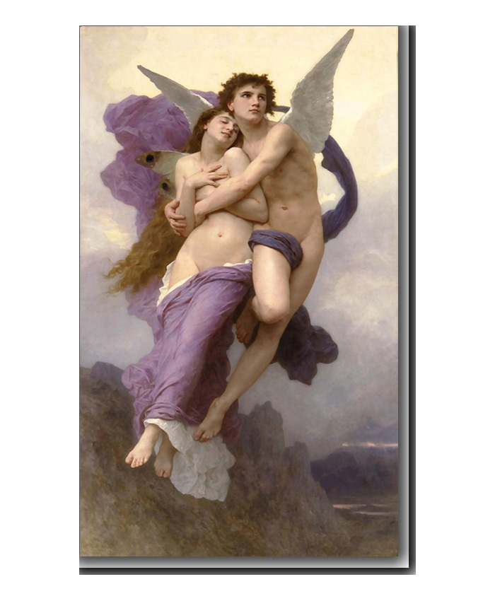 The Abduction of Psyche by Bouguereau